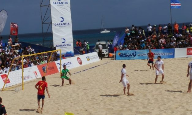 Cape Verde's Beach Soccer team