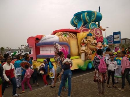 Carnival Float Santa Maria