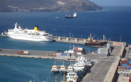 About Expats Cape Verde Travel. The port of Mindelo is deep enough for Cruise ships to anchor on the island of Sao Vicente